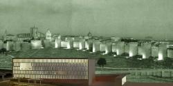 grijalba-arquitectos-proyecto- concurso-edificio publico-Auditorio y Congresos-Avila-fotomontaje 1