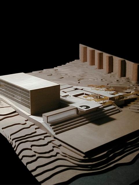 grijalba-arquitectos-proyecto- concurso-edificio publico-Auditorio y Congresos-Avila-maqueta 4 (2)