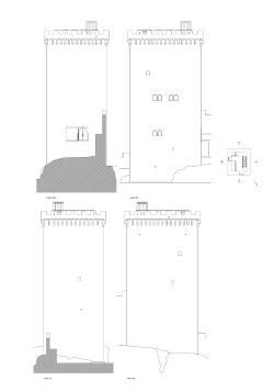 grijalba-arquitectos-proyecto- restauracion-Torre peñaranda- Burgos-alzado