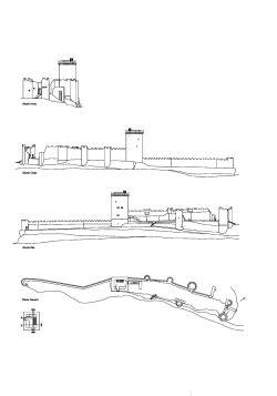 grijalba-arquitectos-proyecto- restauracion-Torre peñaranda- Burgos-alzados