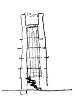 grijalba-arquitectos-proyecto- restauracion-Torre peñaranda- Burgos-croquis_2