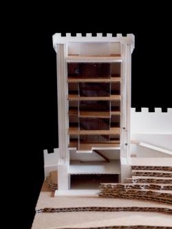 grijalba-arquitectos-proyecto- restauracion-Torre peñaranda- Burgos- maqueta1