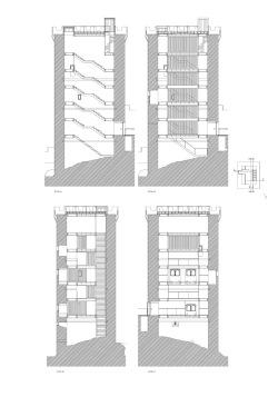 grijalba-arquitectos-proyecto- restauracion-Torre peñaranda- Burgos-seccion