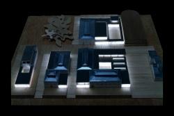 grijalba-arquitectos-proyecto-restauracion-centro 3 edad matadero- Valladolid- maqueta 2