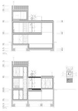 grijalba-arquitectos-proyecto-vivienda-casaq-Valladolid- secciones laterales