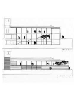 grijalba-arquitectos-concurso- edificio publico-restauracion-Ayto Iscar- Valladolid- alzados seccion 1_