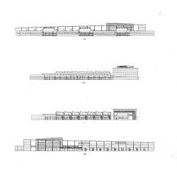 grijalba-arquitectos-concurso- edificio público-Centro de Recursos compartidos, CEI- Boecillo- Valladolid- alzados secciones