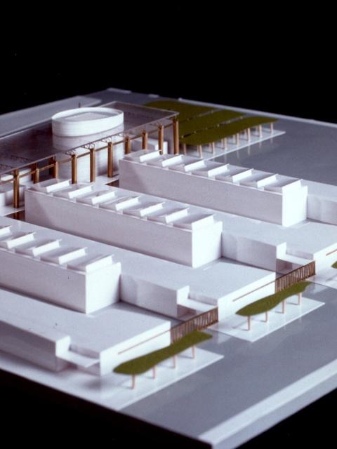 grijalba-arquitectos-concurso- edificio público-Centro de Recursos compartidos, CEI- Boecillo- Valladolid- maqueta 1