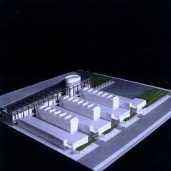 grijalba-arquitectos-concurso- edificio público-Centro de Recursos compartidos, CEI- Boecillo- Valladolid- maqueta 2