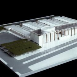 grijalba-arquitectos-concurso- edificio público-Centro de Recursos compartidos, CEI- Boecillo- Valladolid- maqueta 3