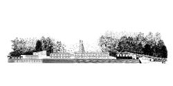 grijalba-arquitectos-concurso- edificio público-restauración-Pozu fondón- Asturias-alzado