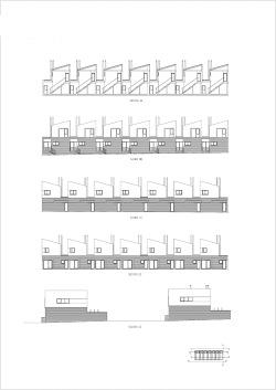 grijalba-arquitectos-proyecto-viviendas-Rubí de Bracamonte- Valladolid-alzados secciones